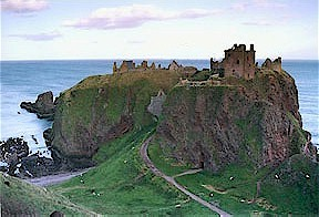 Dunnottar Castle and Crag